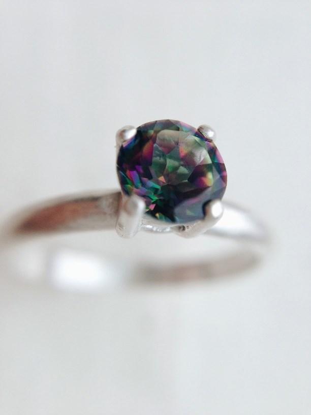 oxidized mystic topaz ring 1