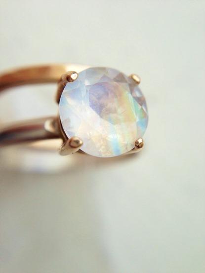 Moonstone Engagement Ring_Handmade Jewelry_LoveGem Studio 221