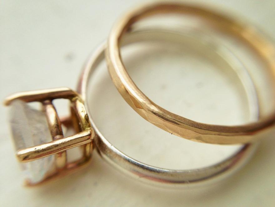 Moonstone Engagement Ring_Handmade Jewelry_LoveGem Studio 225